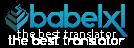 babelxl, best online trasnlator, el mejor traductor web en la nube