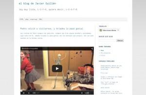 mi blogger, el blog de Javier Guillen